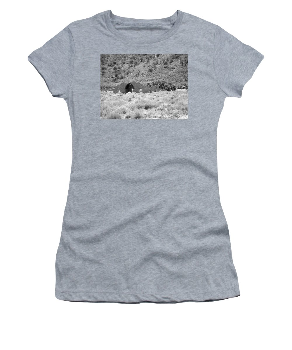Gateway Women's T-Shirt (Athletic Fit) featuring the photograph Ghost Of Colorado by Tommy Anderson