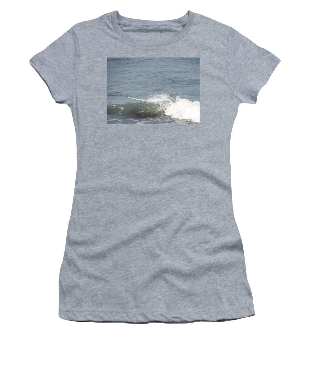 Surfing Women's T-Shirt (Athletic Fit) featuring the photograph Ghost Rider by Steven Natanson