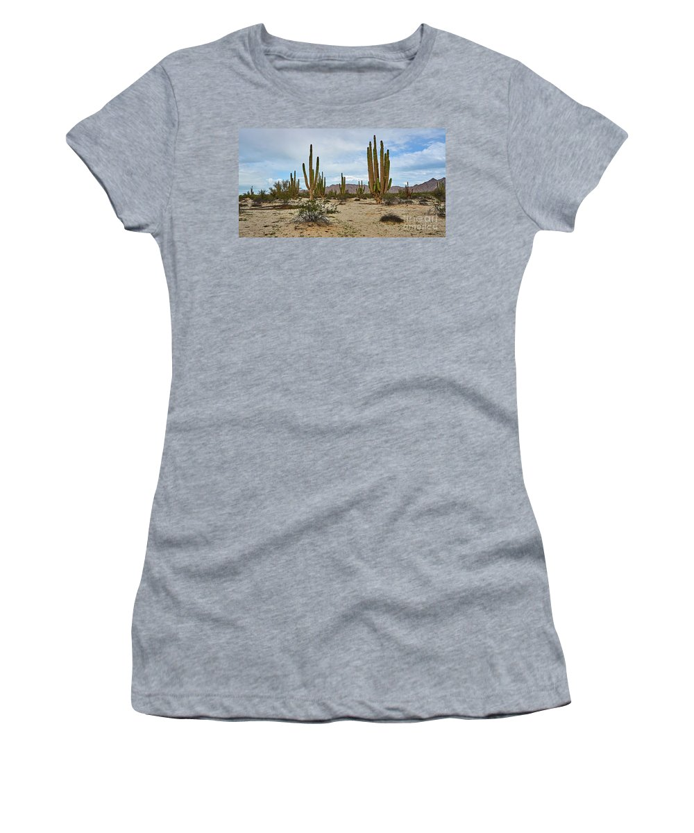 Women's T-Shirt (Athletic Fit) featuring the photograph Giants by Bruce Jarmie