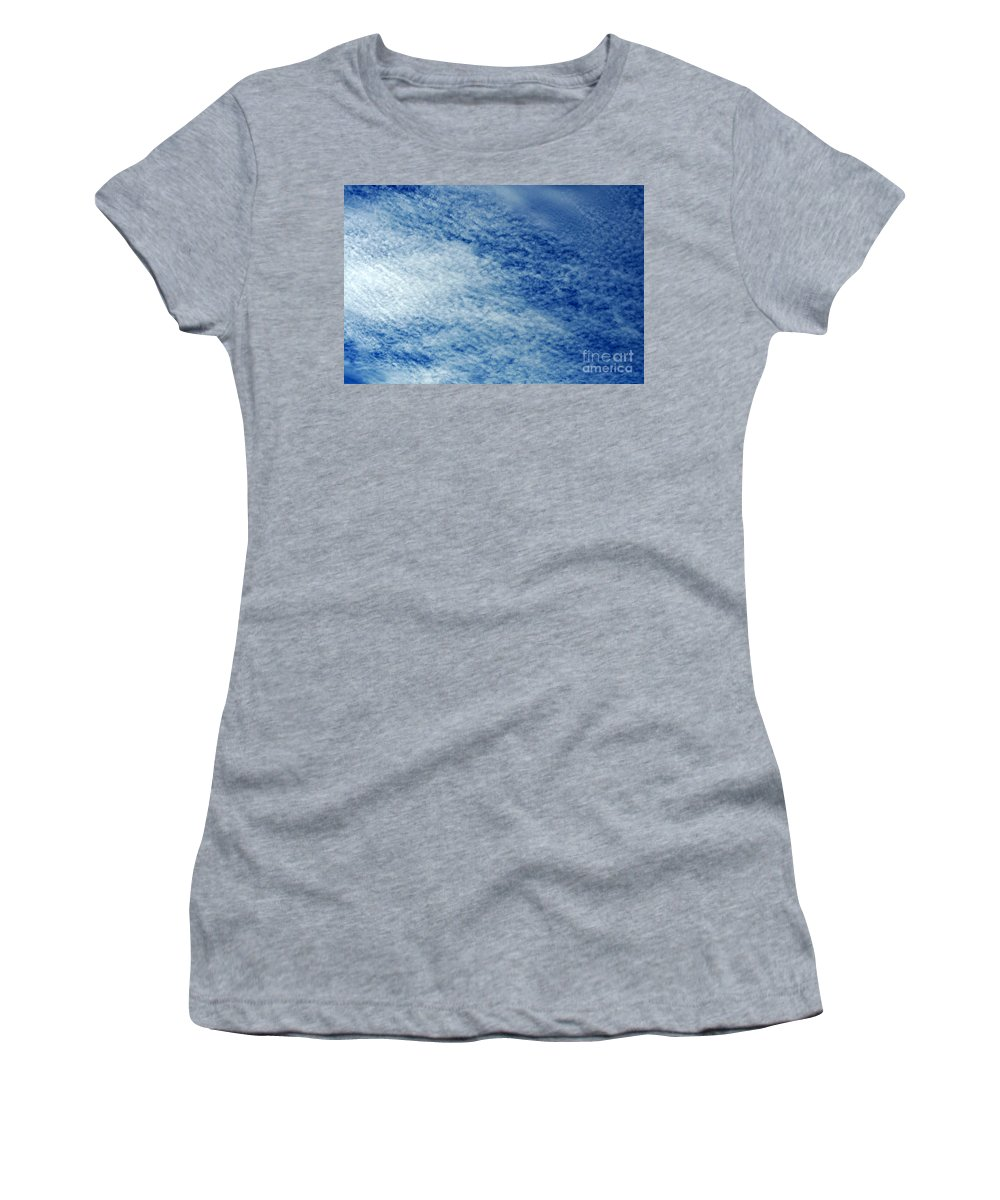 Clay Women's T-Shirt featuring the photograph Grainy Sky by Clayton Bruster