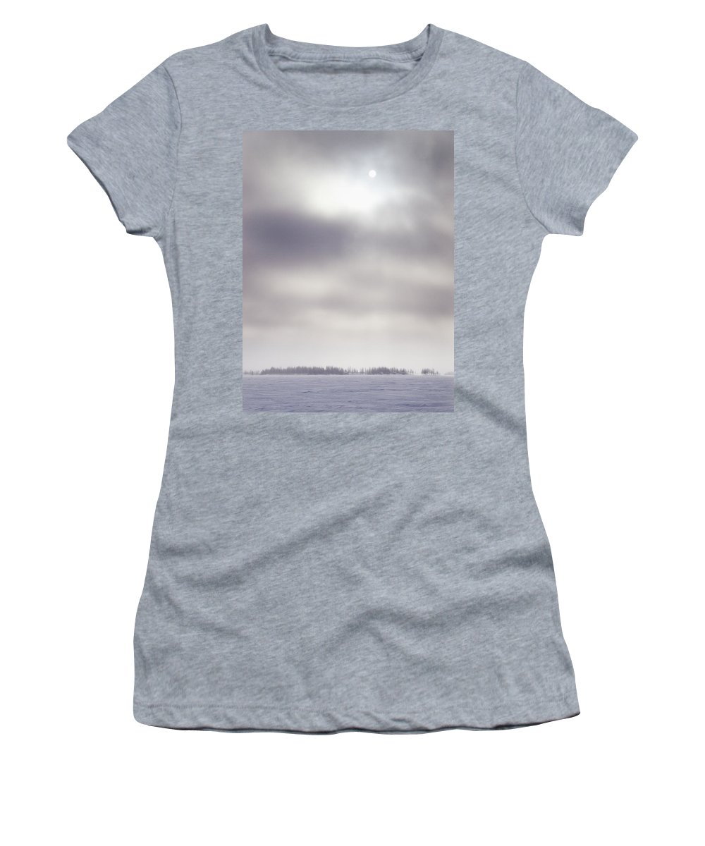 Lehtokukka Women's T-Shirt (Athletic Fit) featuring the photograph Gulf Of Bothnia Variations Nr 12 by Jouko Lehto
