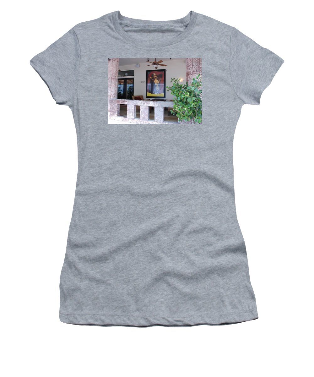 Art Women's T-Shirt (Athletic Fit) featuring the photograph Gypsy Lady by Rob Hans