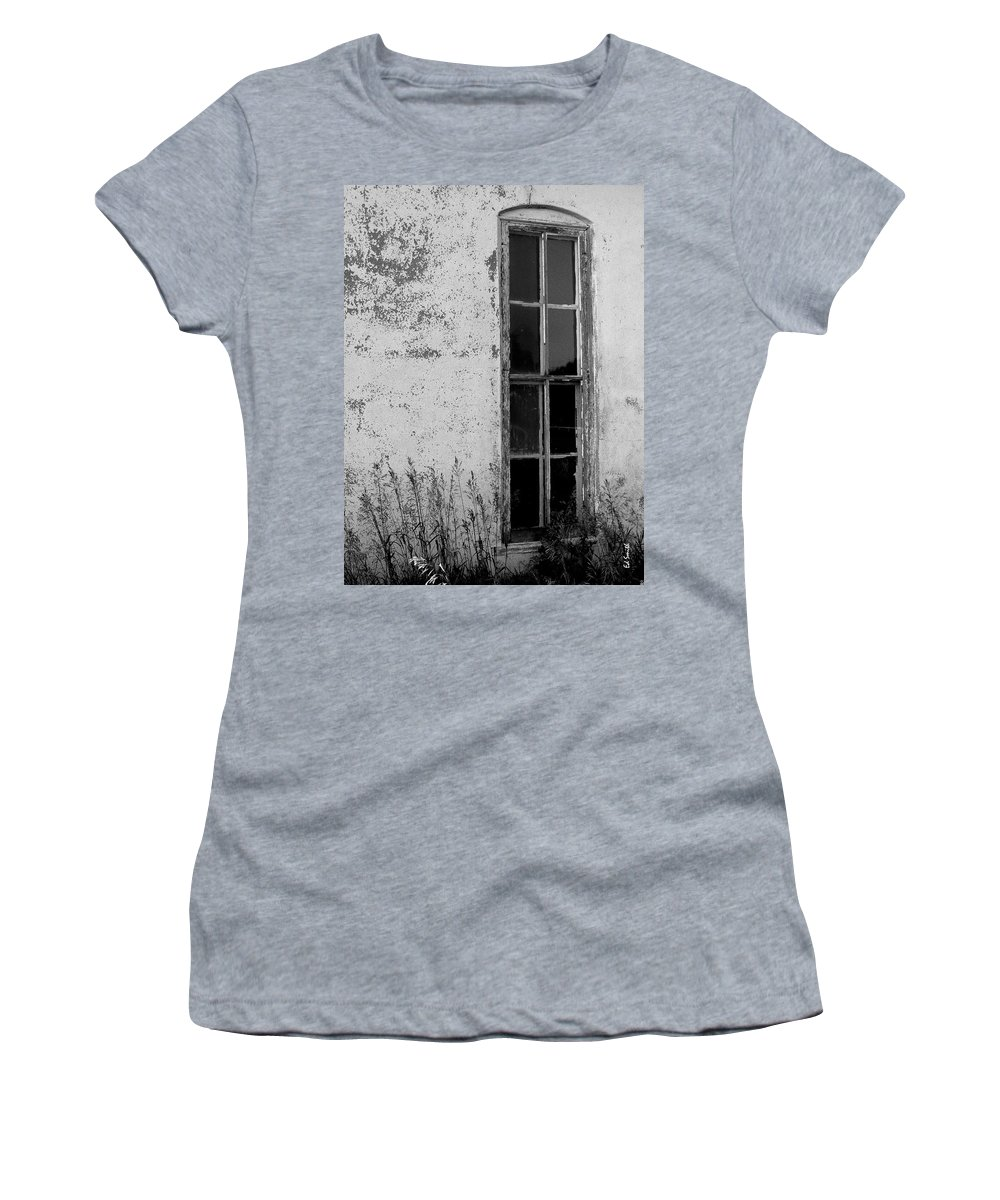Home Women's T-Shirt (Athletic Fit) featuring the photograph Home by Ed Smith
