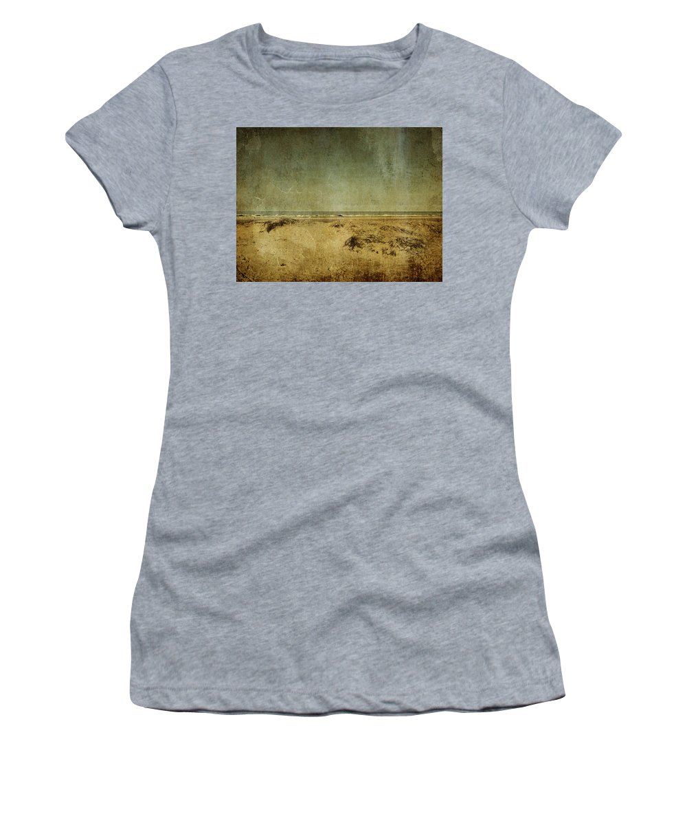 Beach Women's T-Shirt (Athletic Fit) featuring the photograph I Wore Your Shirt by Dana DiPasquale