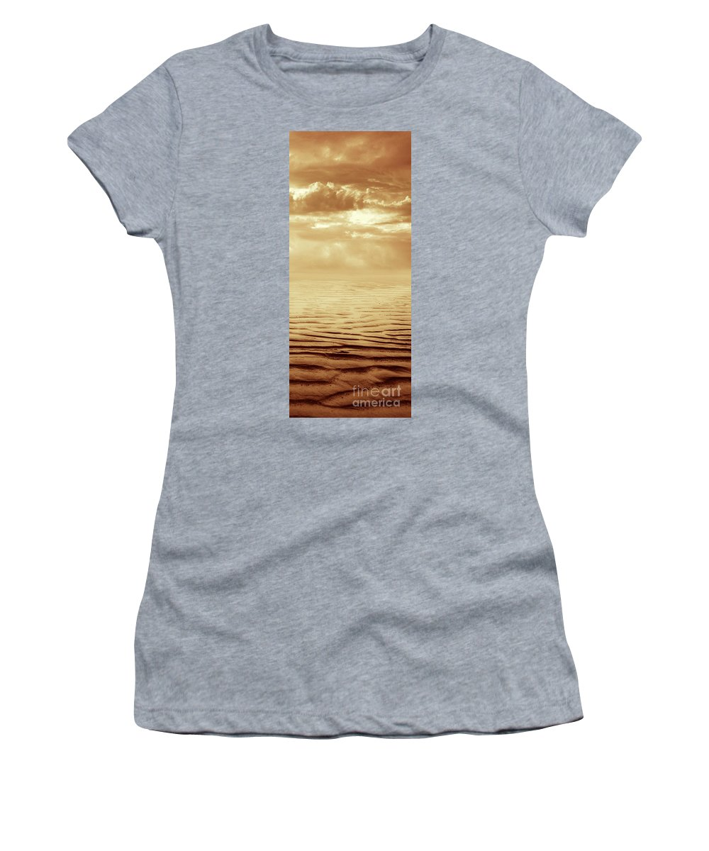 Dipasquale Women's T-Shirt (Athletic Fit) featuring the photograph Illusion Never Changed Into Something Real by Dana DiPasquale