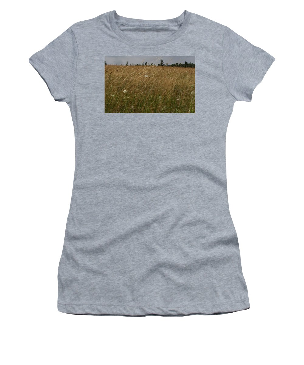 George Weymouth Women's T-Shirt (Athletic Fit) featuring the photograph In Memory Of George Weymouth by Paul Borden