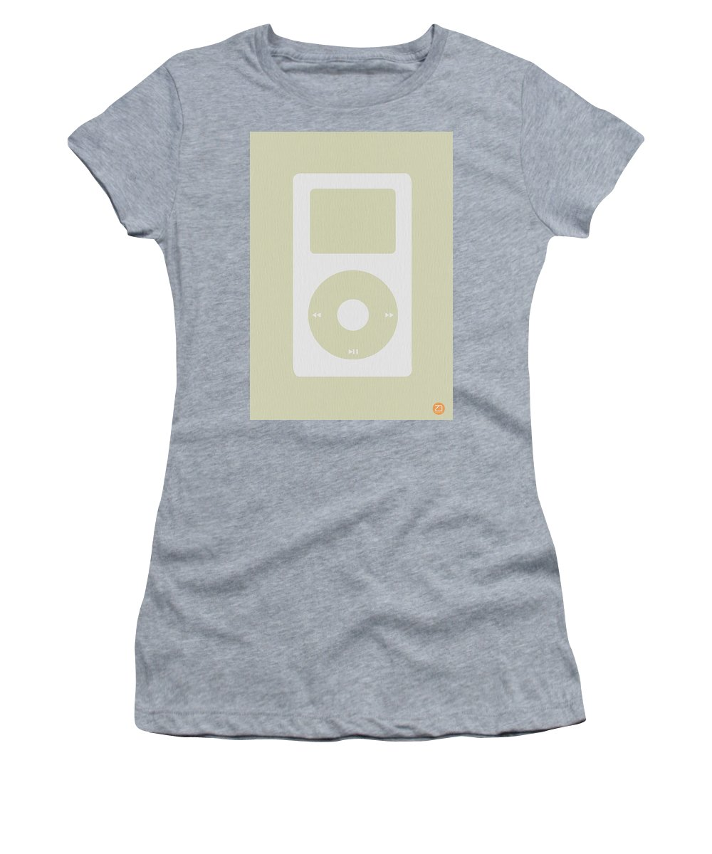 Ipod Women's T-Shirt featuring the photograph iPod by Naxart Studio