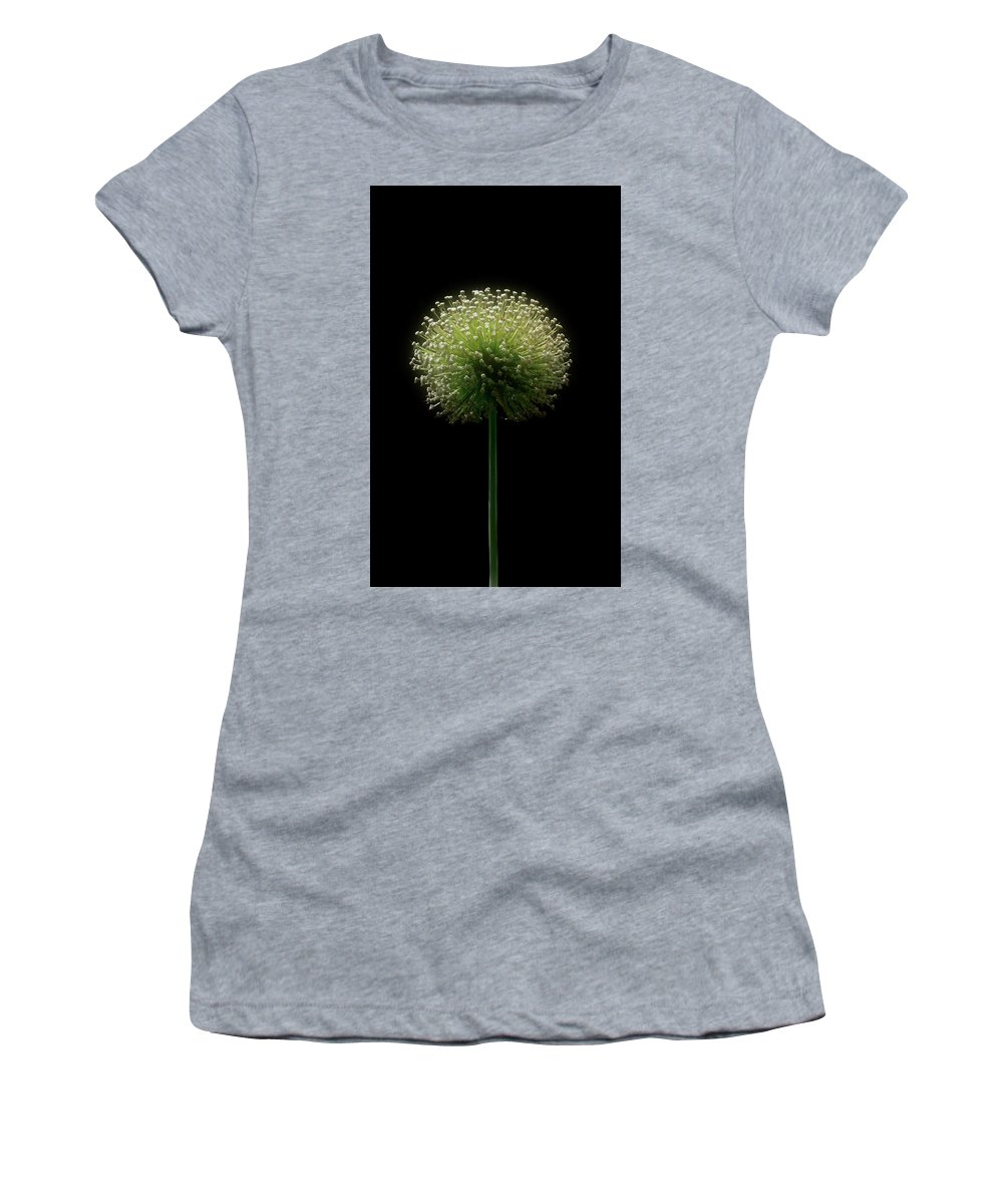 Flowers Women's T-Shirt (Athletic Fit) featuring the photograph It Wasn't 6 Pm by Cynthia Dickinson