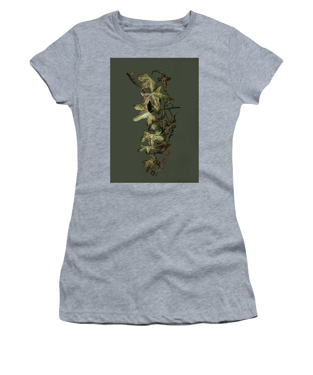 Ivy Women's T-Shirt featuring the digital art Ivy by Melanie Brear