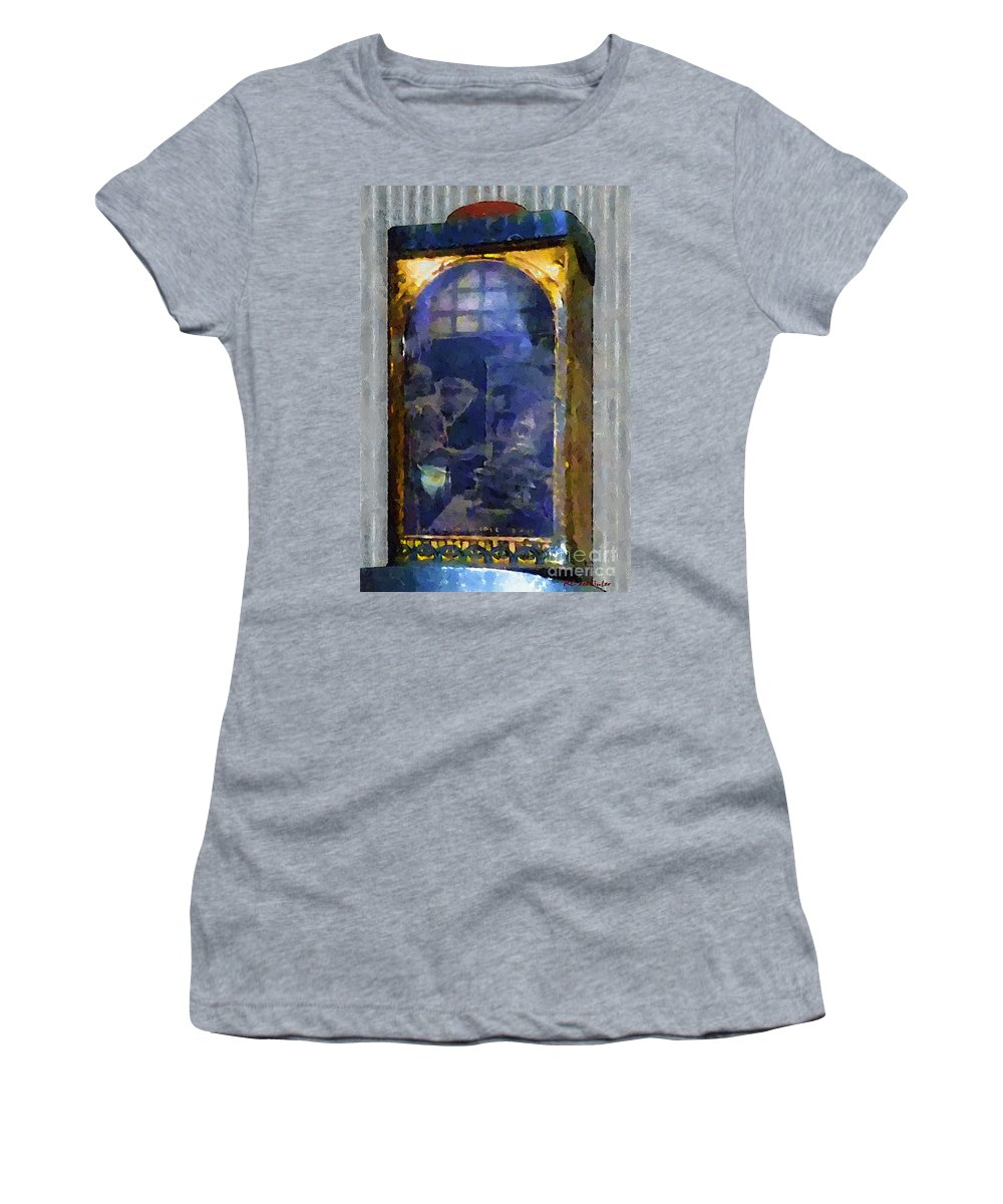 Advertising Women's T-Shirt (Athletic Fit) featuring the painting Kitchen Alchemy by RC DeWinter