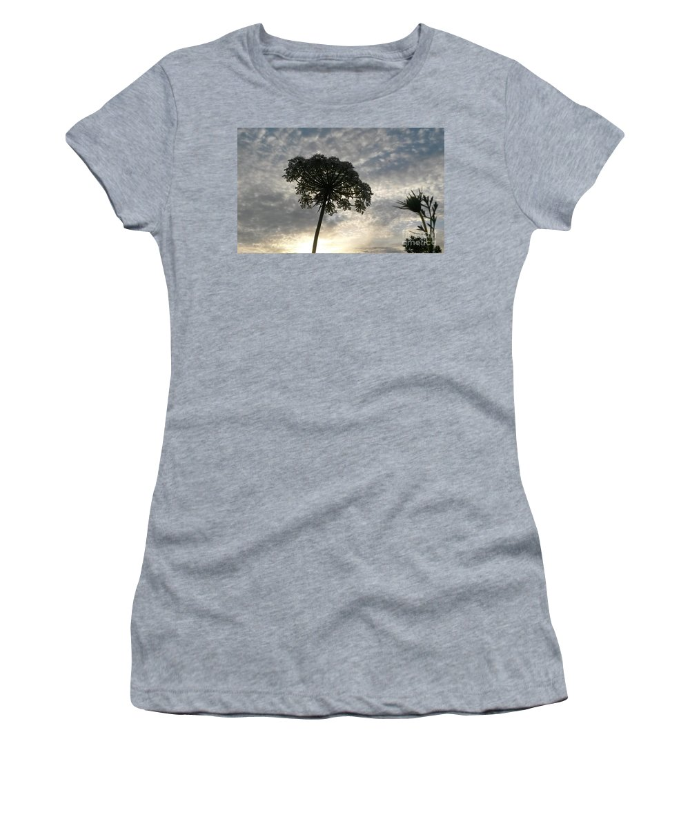 Laced With Beauty Women's T-Shirt featuring the photograph Laced With Beauty by Maria Urso