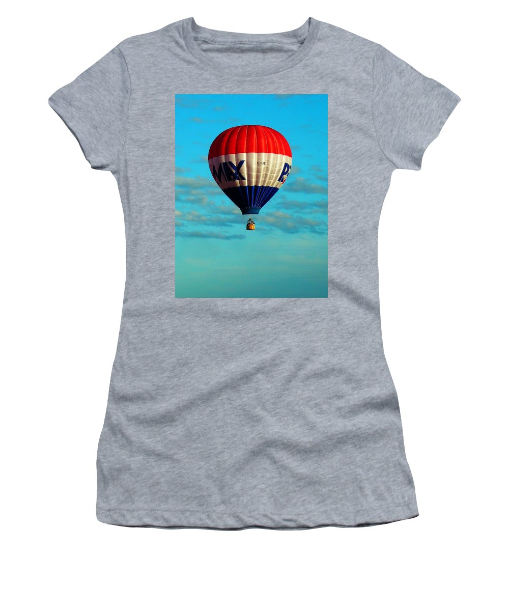 Hot Women's T-Shirt (Athletic Fit) featuring the photograph Loneliness ... by Juergen Weiss