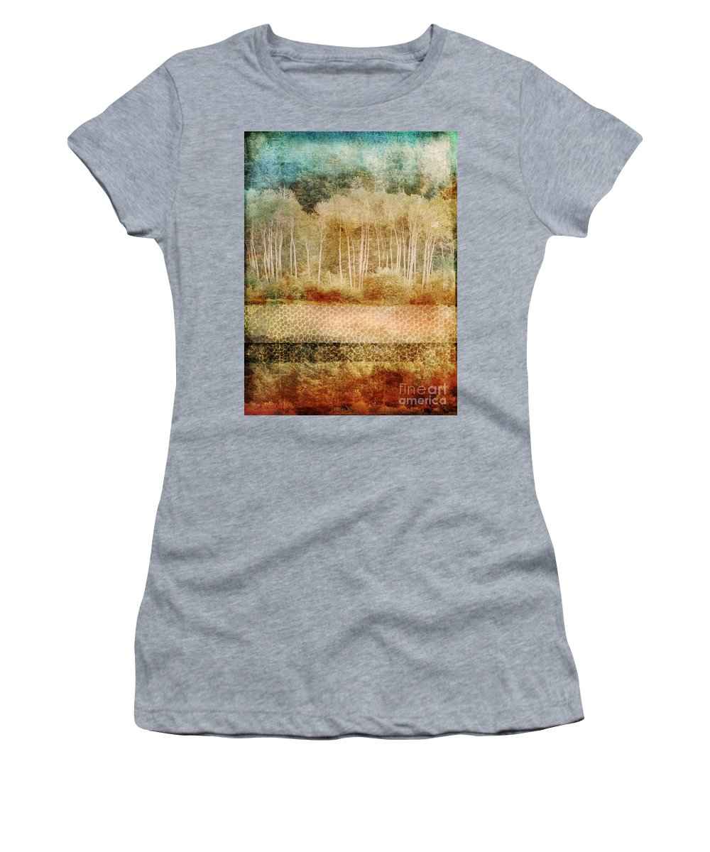 Trees Women's T-Shirt (Athletic Fit) featuring the photograph Loss Of Memory by Tara Turner