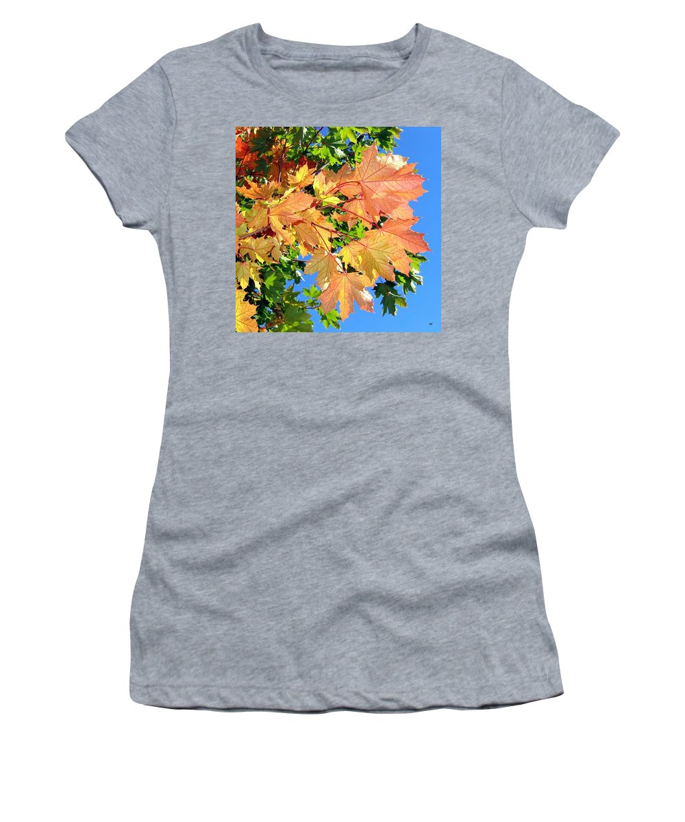 Autumn Women's T-Shirt featuring the photograph Maple Mania 1 by Will Borden