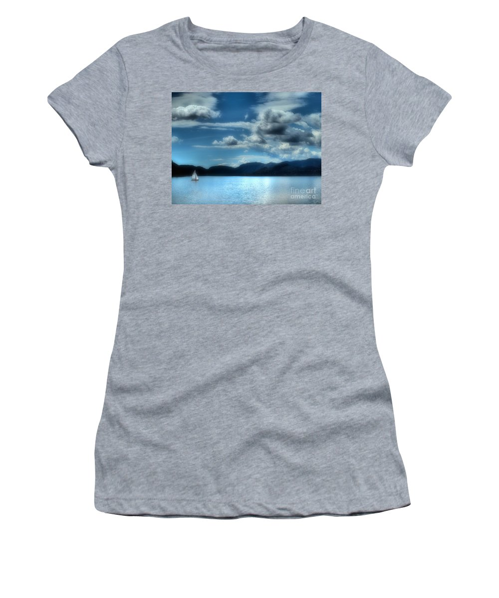 Lake Women's T-Shirt featuring the photograph May 30 2010 by Tara Turner