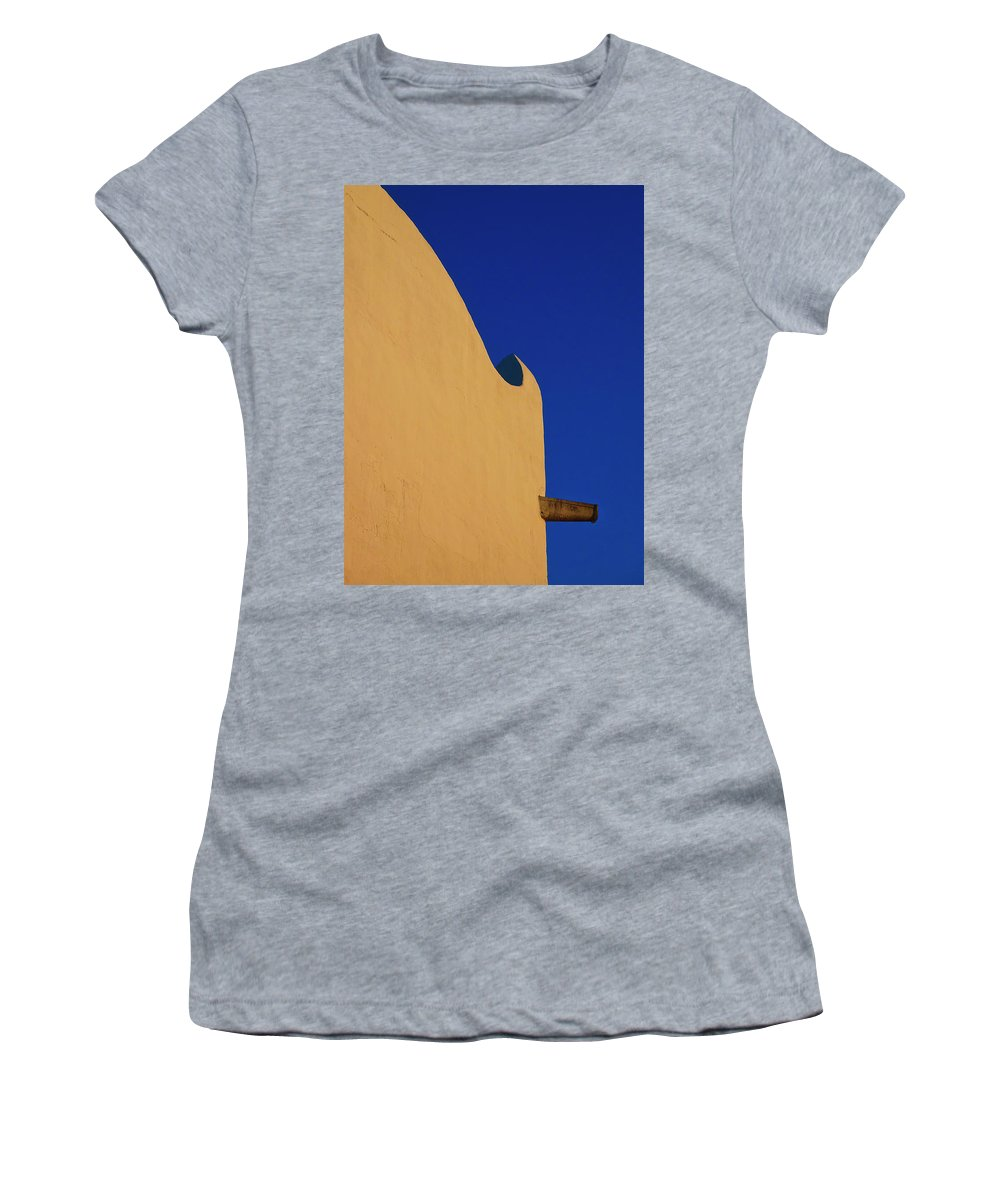 Mission Women's T-Shirt (Athletic Fit) featuring the photograph Mission 1 by Skip Hunt