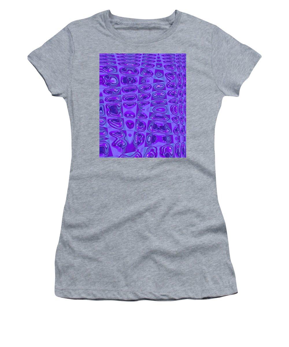 Moveonart! Digital Gallery Women's T-Shirt featuring the digital art Moveonart Touched 7 by Jacob Kanduch