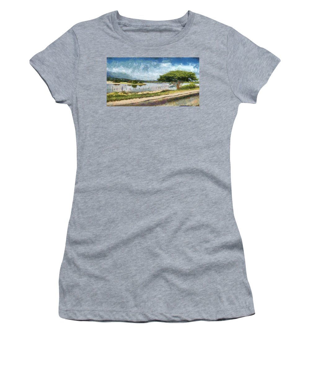Natural Women's T-Shirt (Athletic Fit) featuring the photograph Natural Reserve Of Cuare by Galeria Trompiz
