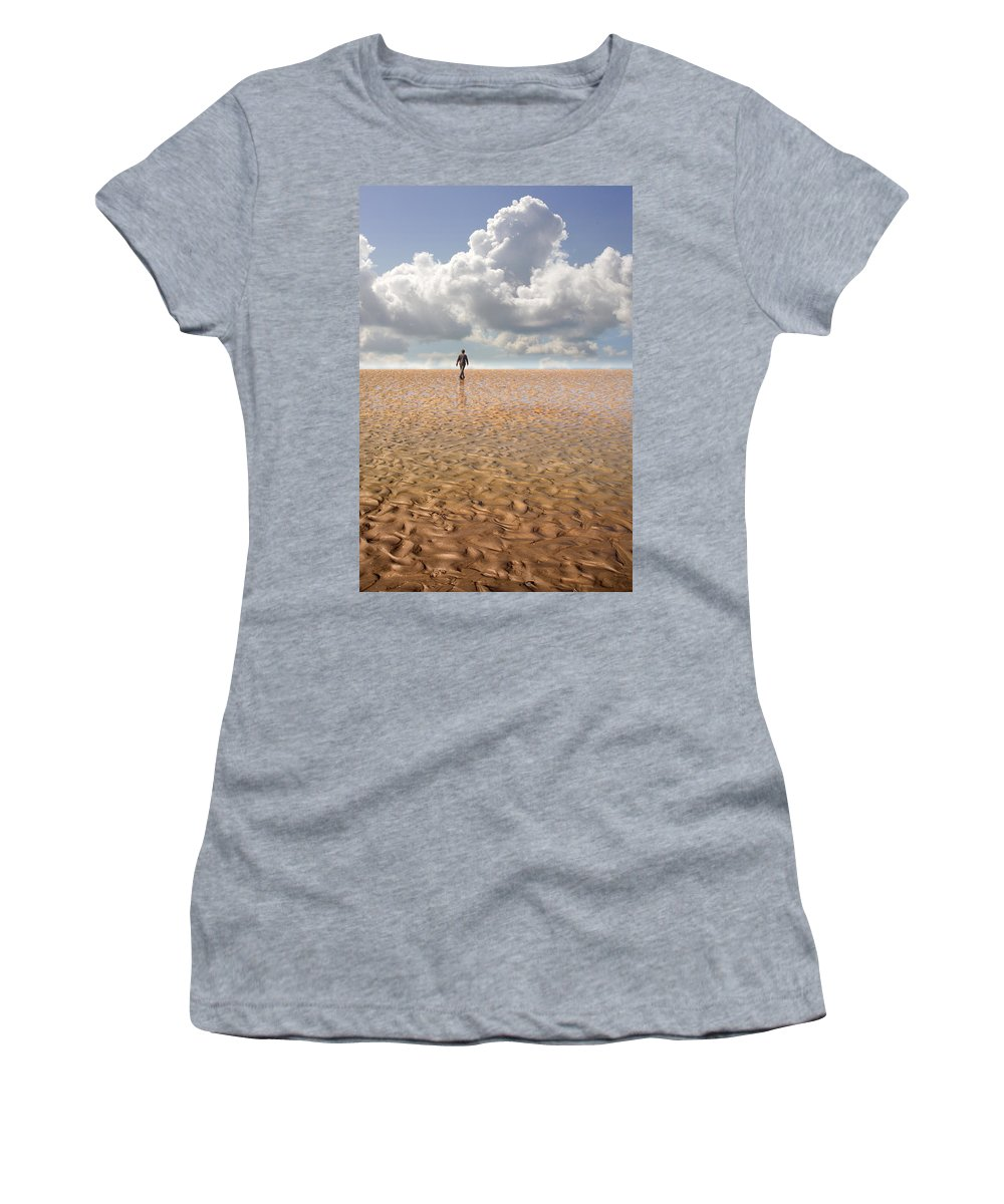 Landscape Women's T-Shirt featuring the photograph Never Go Back by Mal Bray