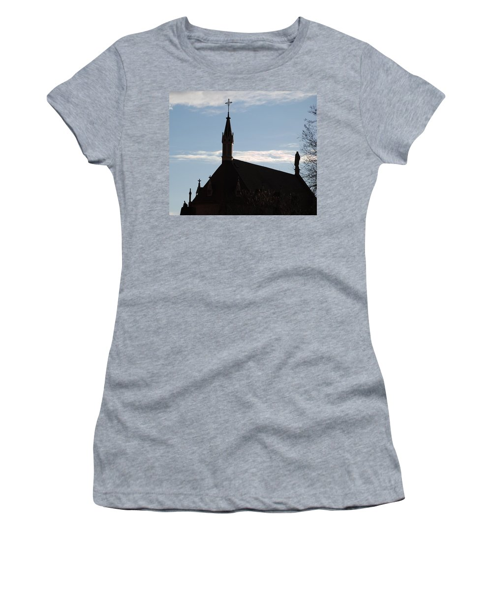 Church Women's T-Shirt (Athletic Fit) featuring the photograph New Mexican Church by Rob Hans