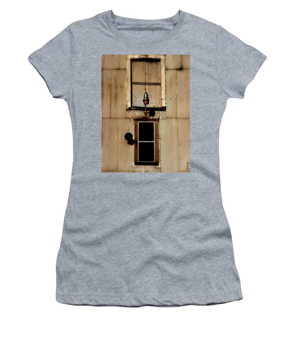 Night Light Women's T-Shirt (Athletic Fit) featuring the photograph Night Light by Ed Smith
