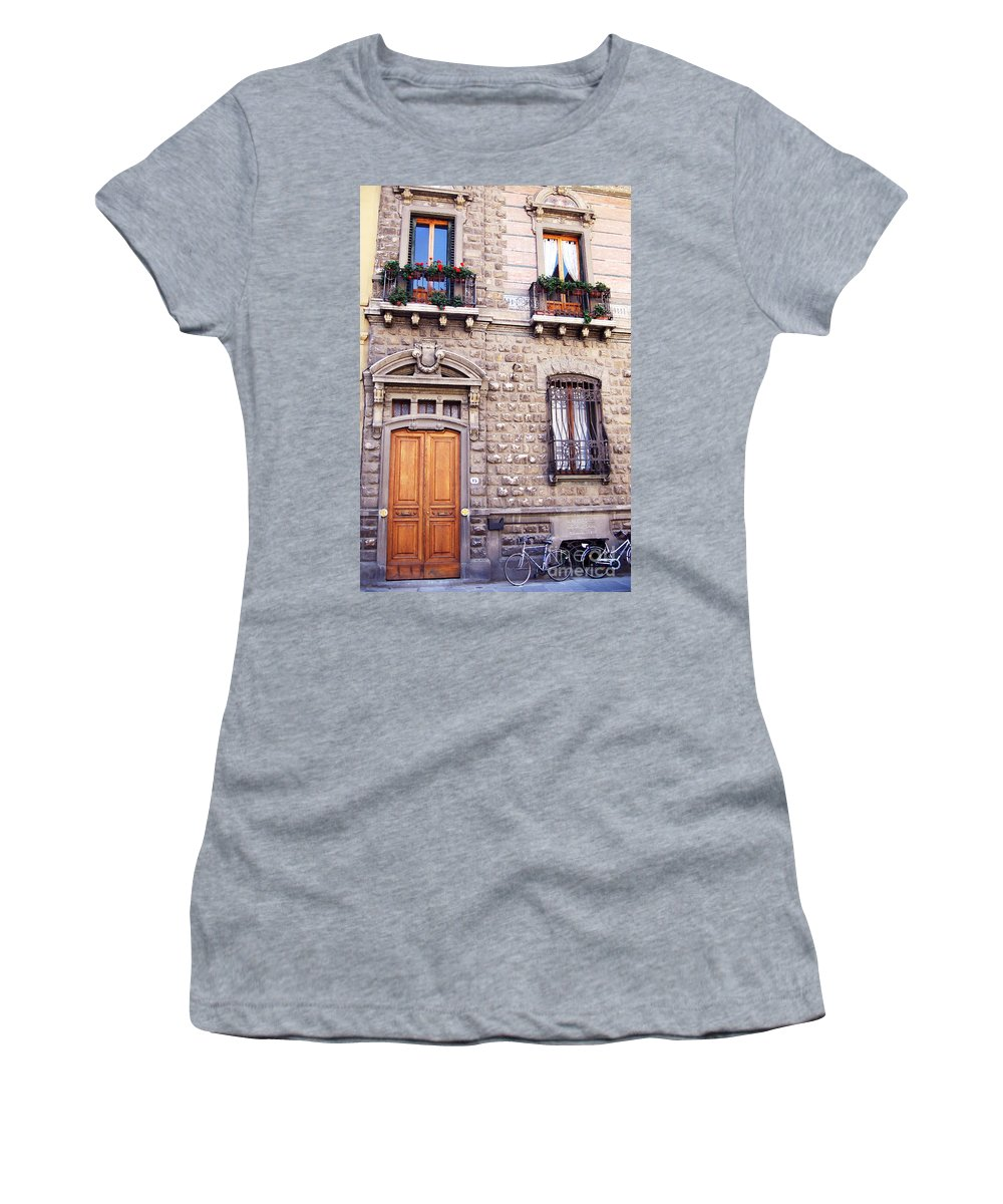 Forence Women's T-Shirt (Athletic Fit) featuring the photograph Number Fifteen by Rhonda Chase