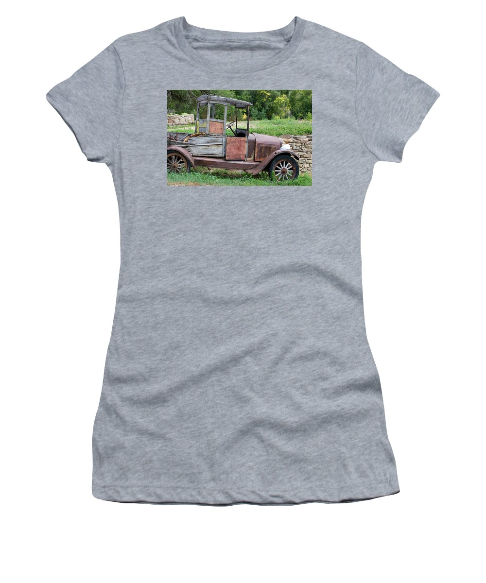 Southwest Women's T-Shirt featuring the photograph Old Faithful by Jim Benest