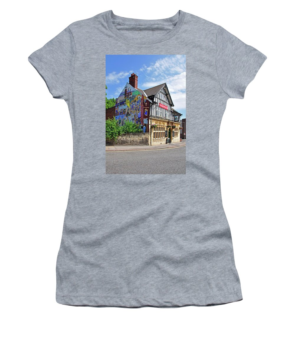 Outdoors Women's T-Shirt featuring the photograph Old Silk Mill - Derby by Rod Johnson
