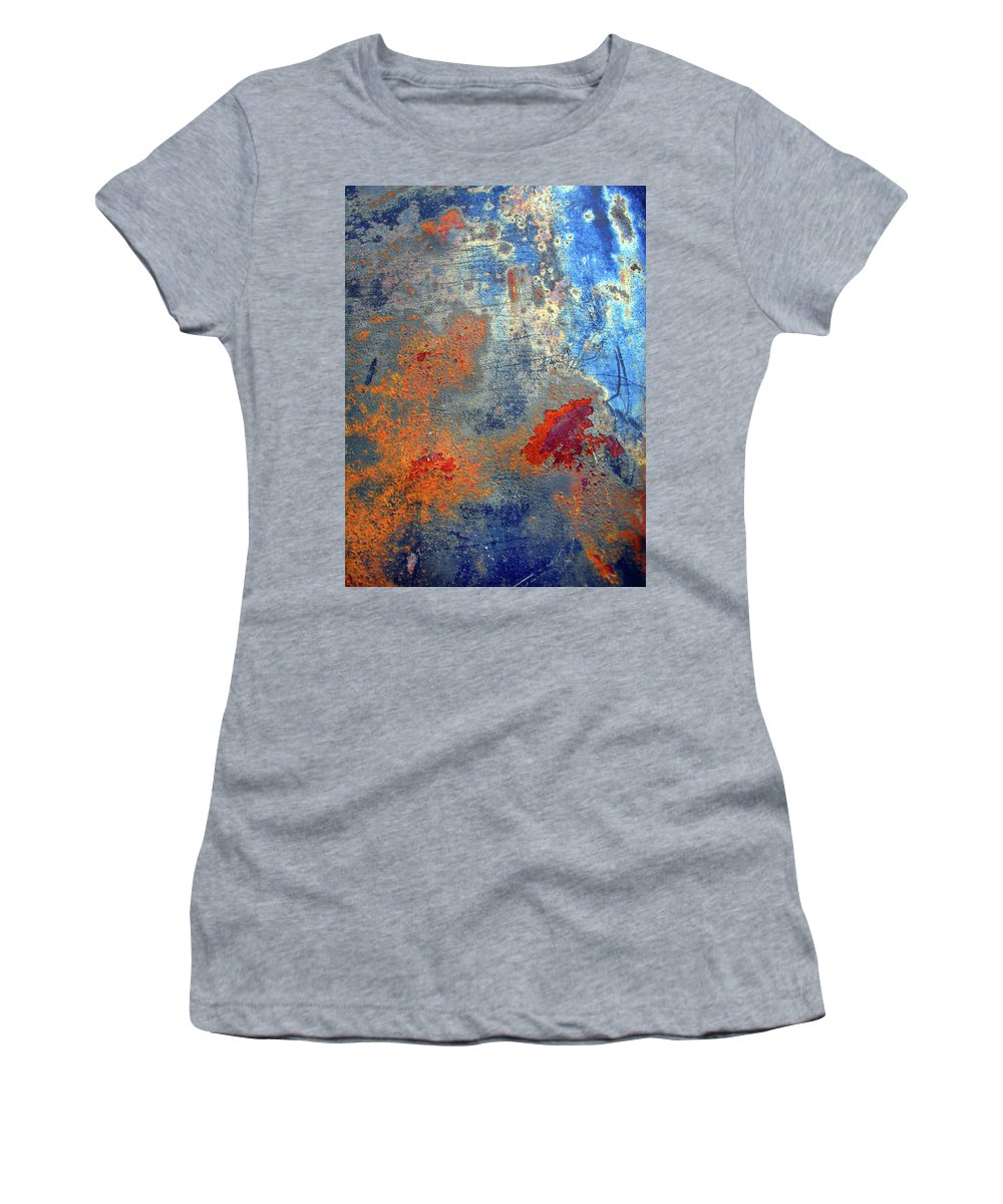 Abstract Women's T-Shirt (Athletic Fit) featuring the photograph Other Worlds by Tara Turner