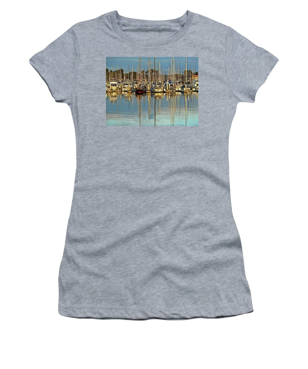 Boat Women's T-Shirt (Athletic Fit) featuring the photograph Out Of The Ordinary by Diana Hatcher