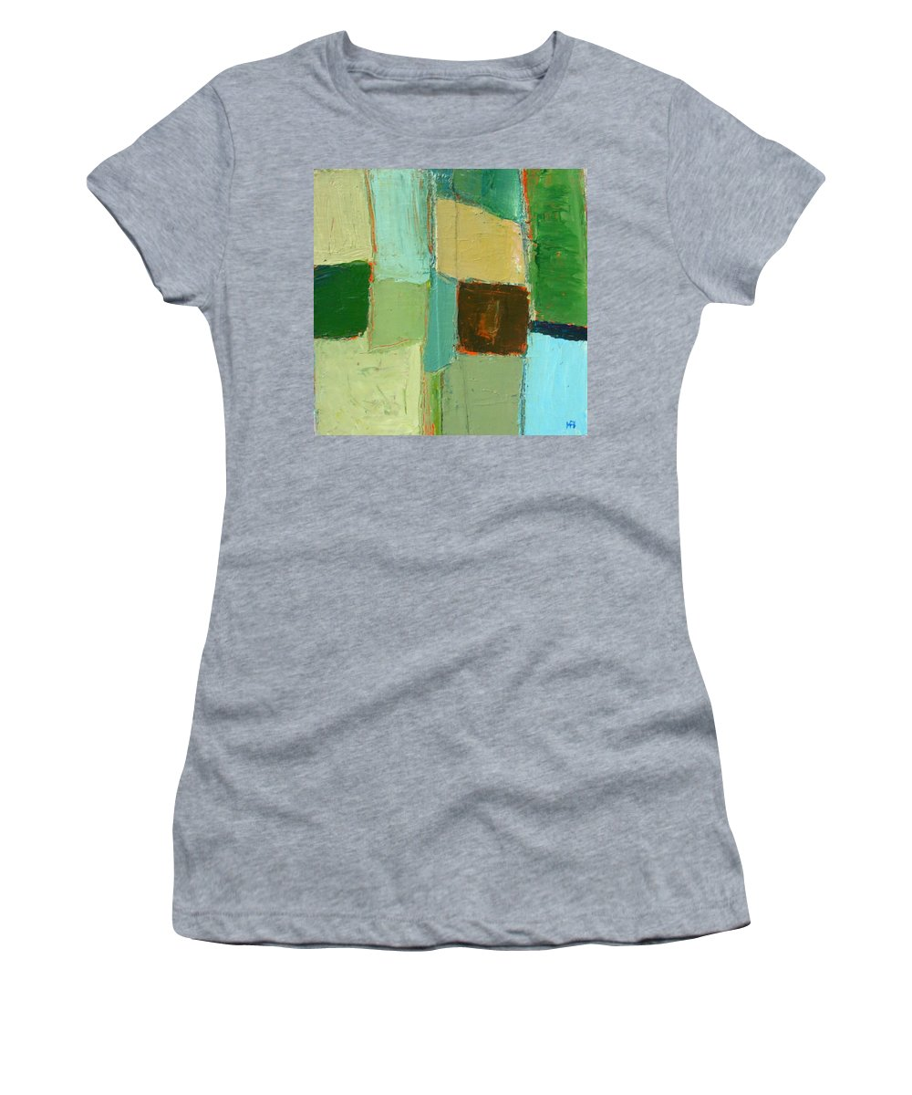 Women's T-Shirt featuring the painting Peace 2 by Habib Ayat
