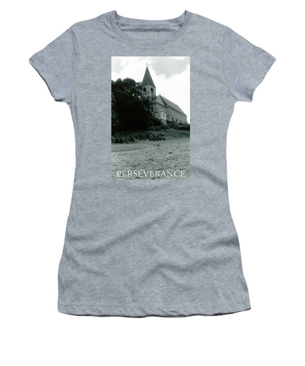 Church Women's T-Shirt (Athletic Fit) featuring the photograph Perseverance by Michelle Calkins