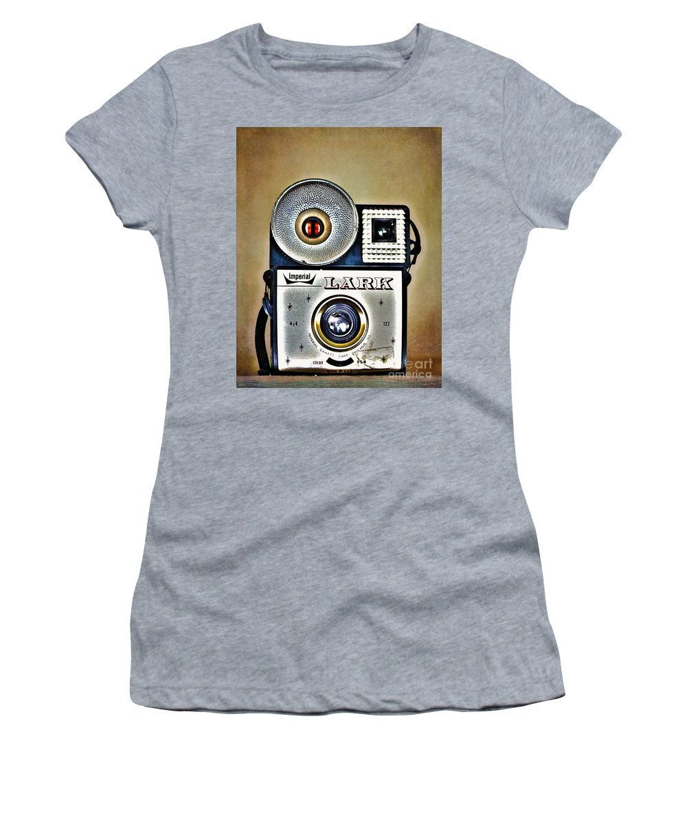 Photographs Women's T-Shirt featuring the photograph Photographs And Memories by Nina Silver