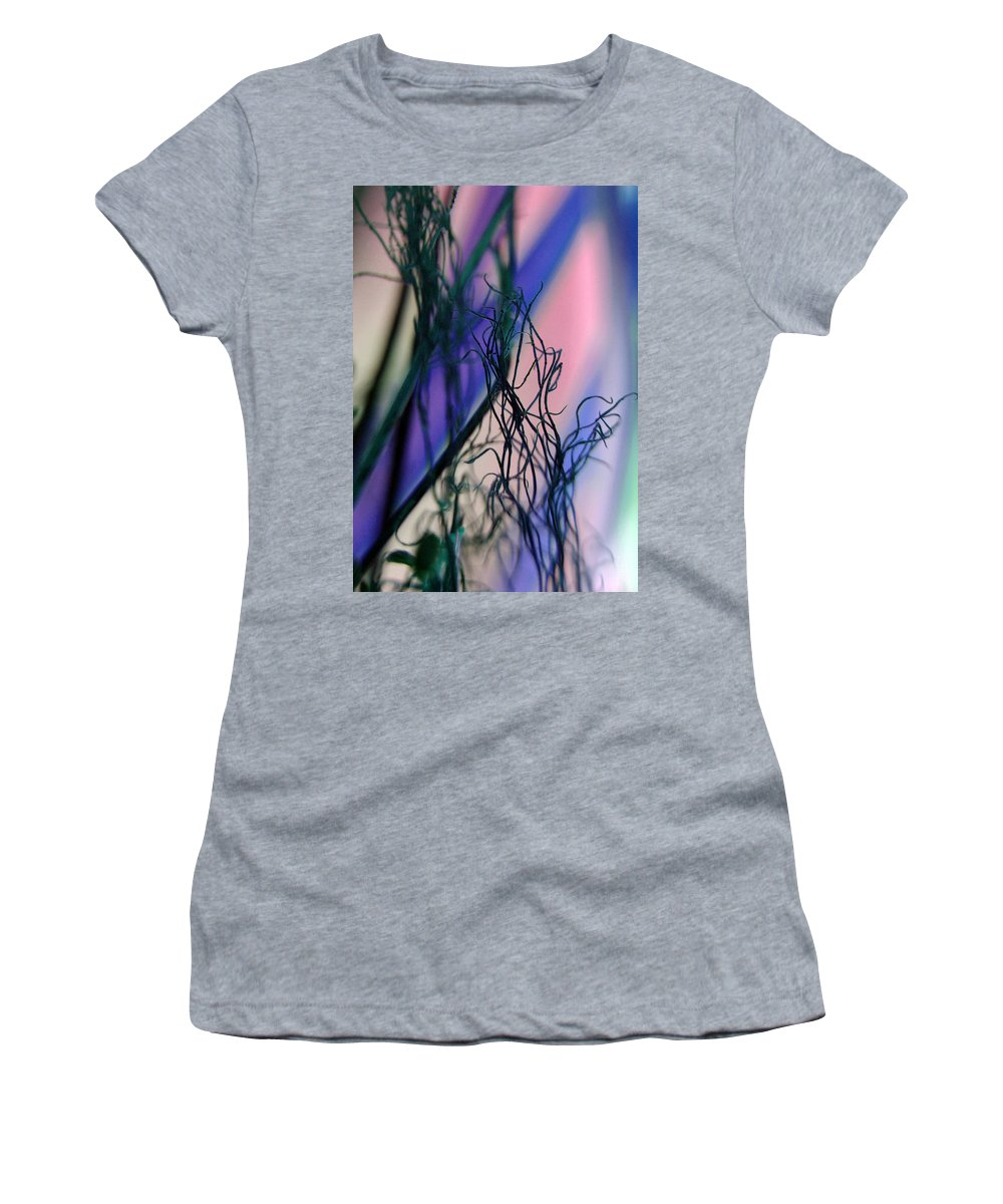 Flowers Women's T-Shirt (Athletic Fit) featuring the photograph Possibilities... by Arthur Miller