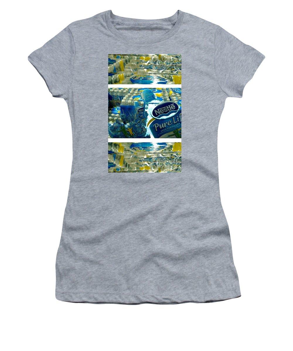 Water Women's T-Shirt (Junior Cut) featuring the photograph Pure Life by Ze DaLuz