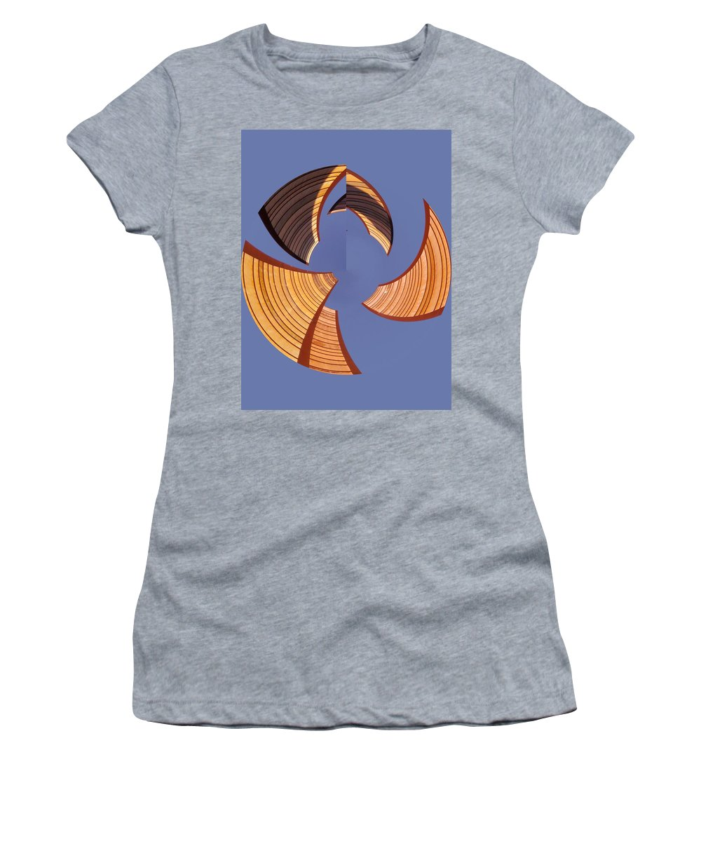 Seattle Women's T-Shirt (Athletic Fit) featuring the photograph Reeds 1 by Tim Allen