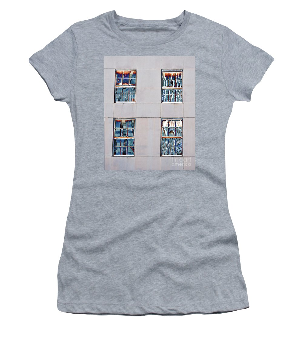 New Orleans Women's T-Shirt featuring the photograph Reflecting Artwork by Frances Ann Hattier