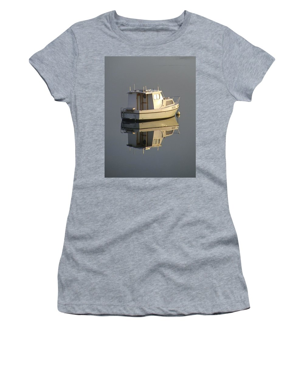 Reflection Women's T-Shirt featuring the photograph Reflection by Kathryn Potempski