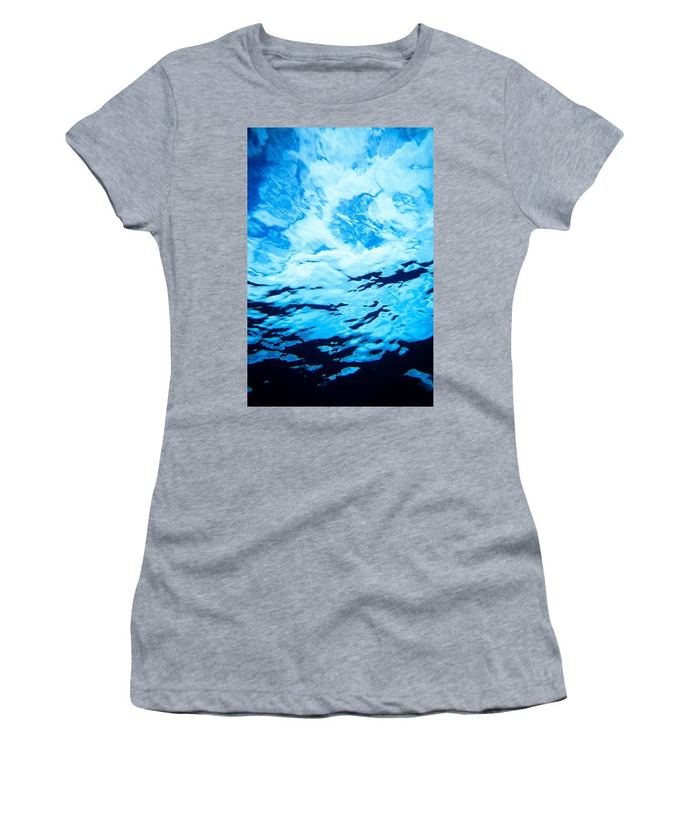 Amaze Women's T-Shirt featuring the photograph Reflections And Shadows by Erik Aeder - Printscapes