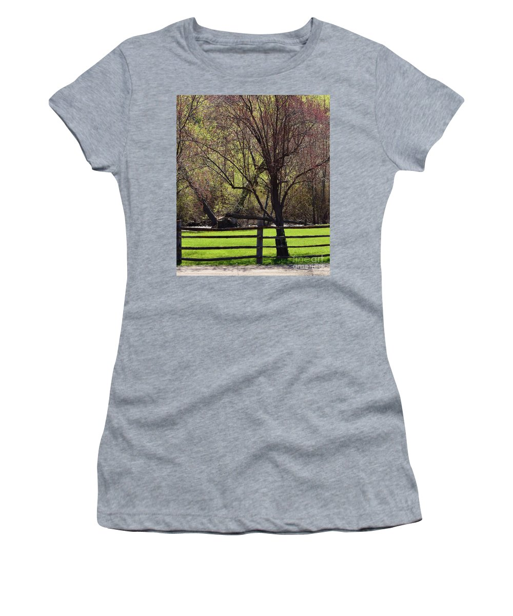 Landscape Women's T-Shirt featuring the photograph Relaxing Hideaway by LKB Art and Photography