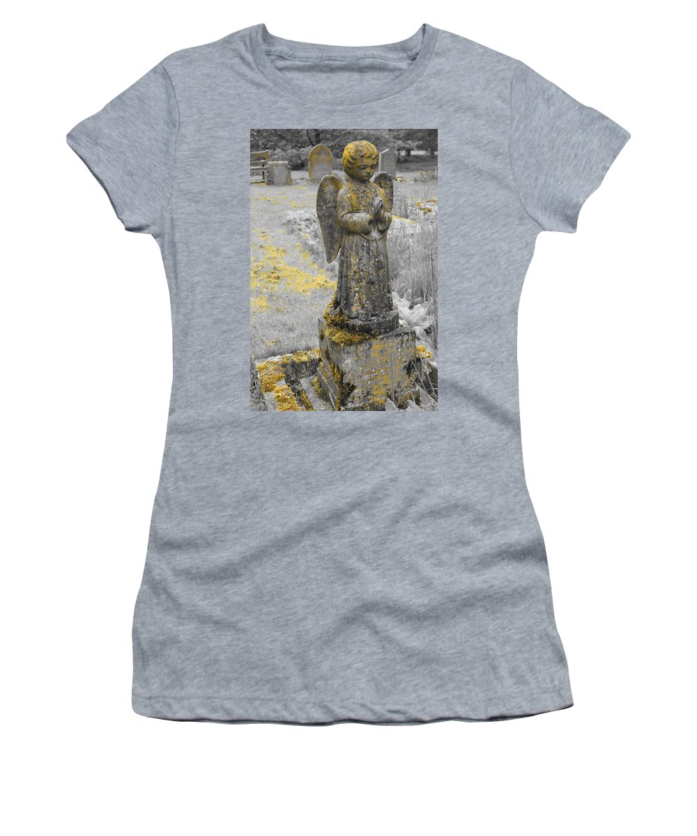Church Women's T-Shirt featuring the photograph Remember Before God Vi by Elena Perelman