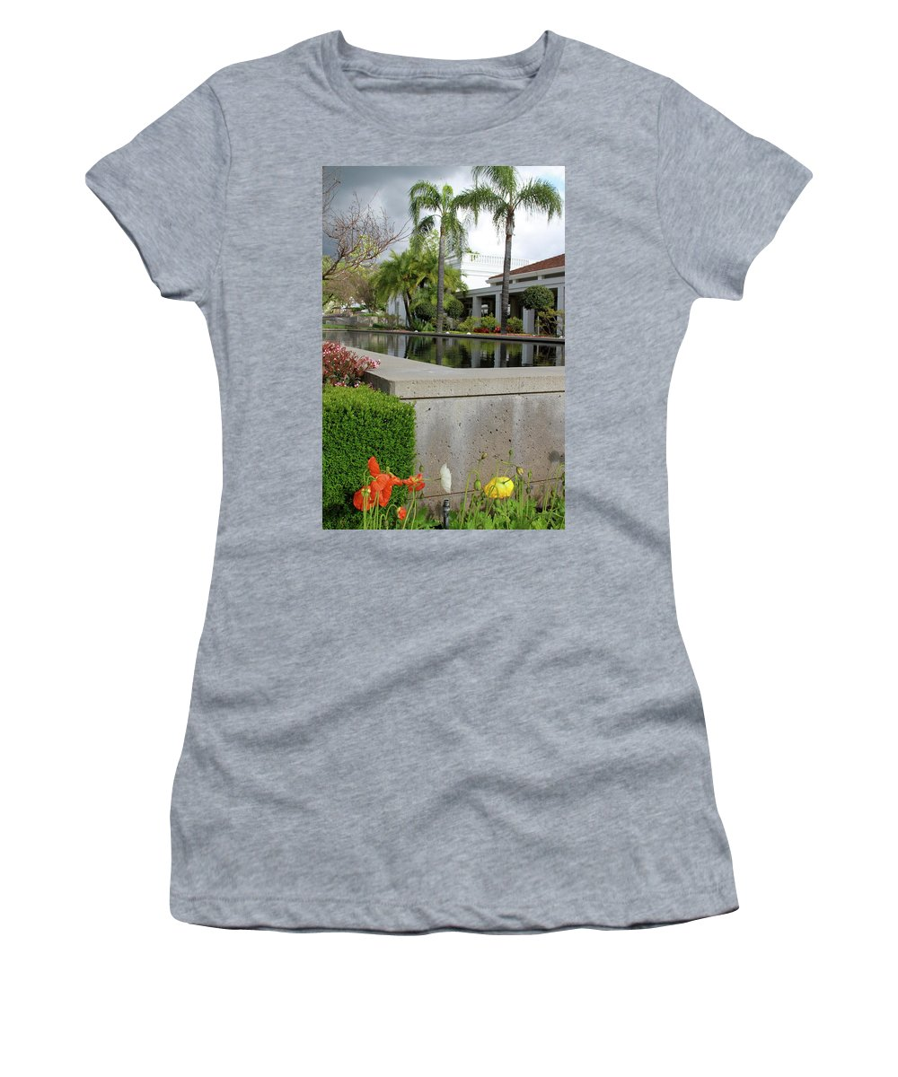 Richard M Nixon Women's T-Shirt (Athletic Fit) featuring the photograph Richard M. Nixon by Laddie Halupa