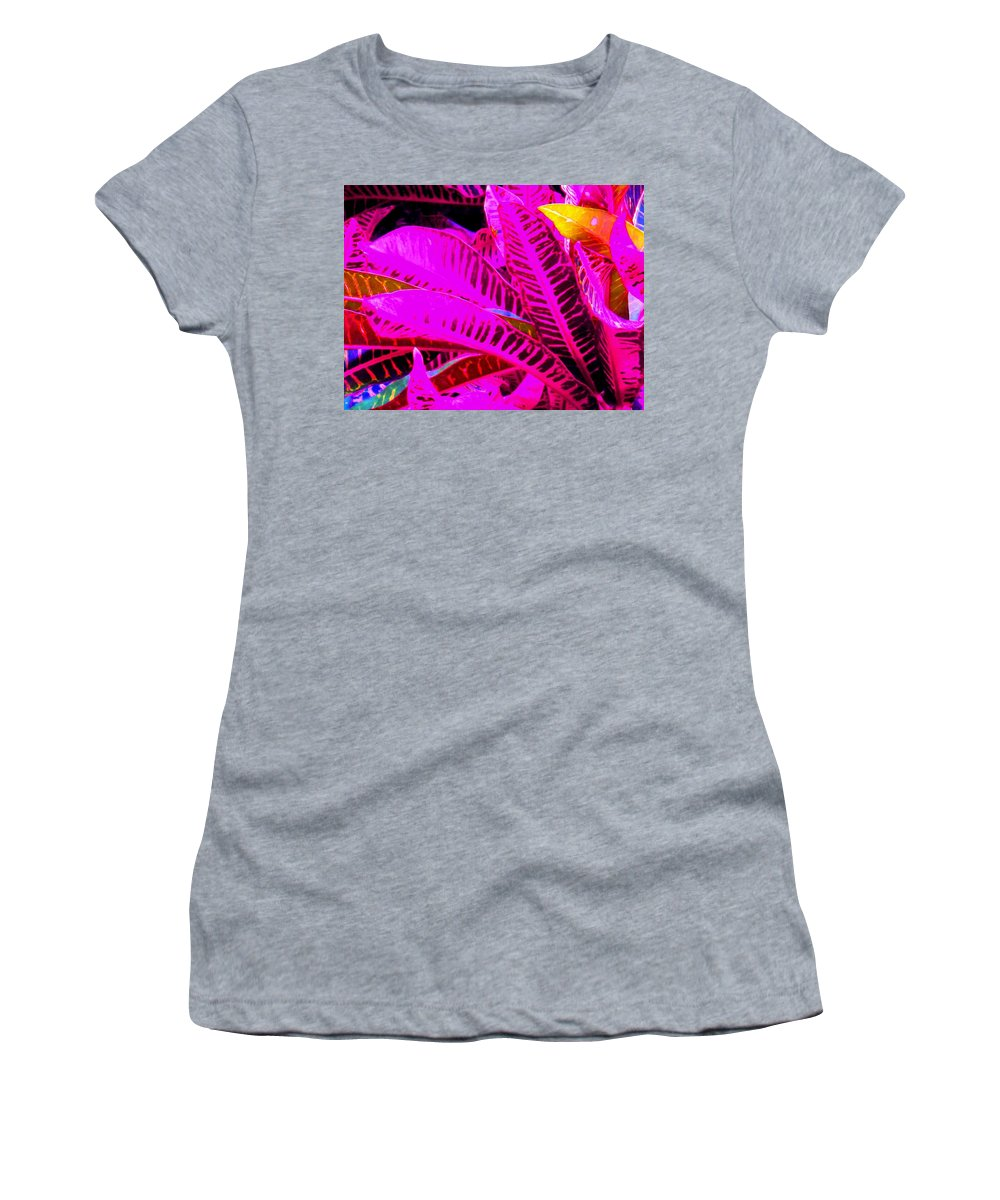 Pink Women's T-Shirt (Athletic Fit) featuring the photograph Romney Pink by Ian MacDonald