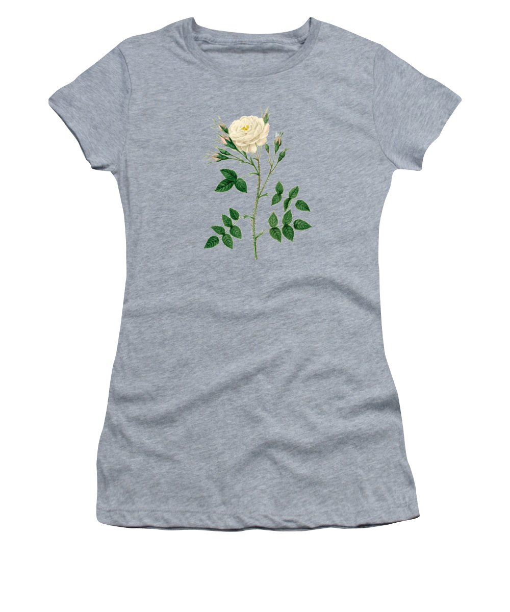 Rose Women's T-Shirt featuring the painting Rose125 by The one eyed Raven