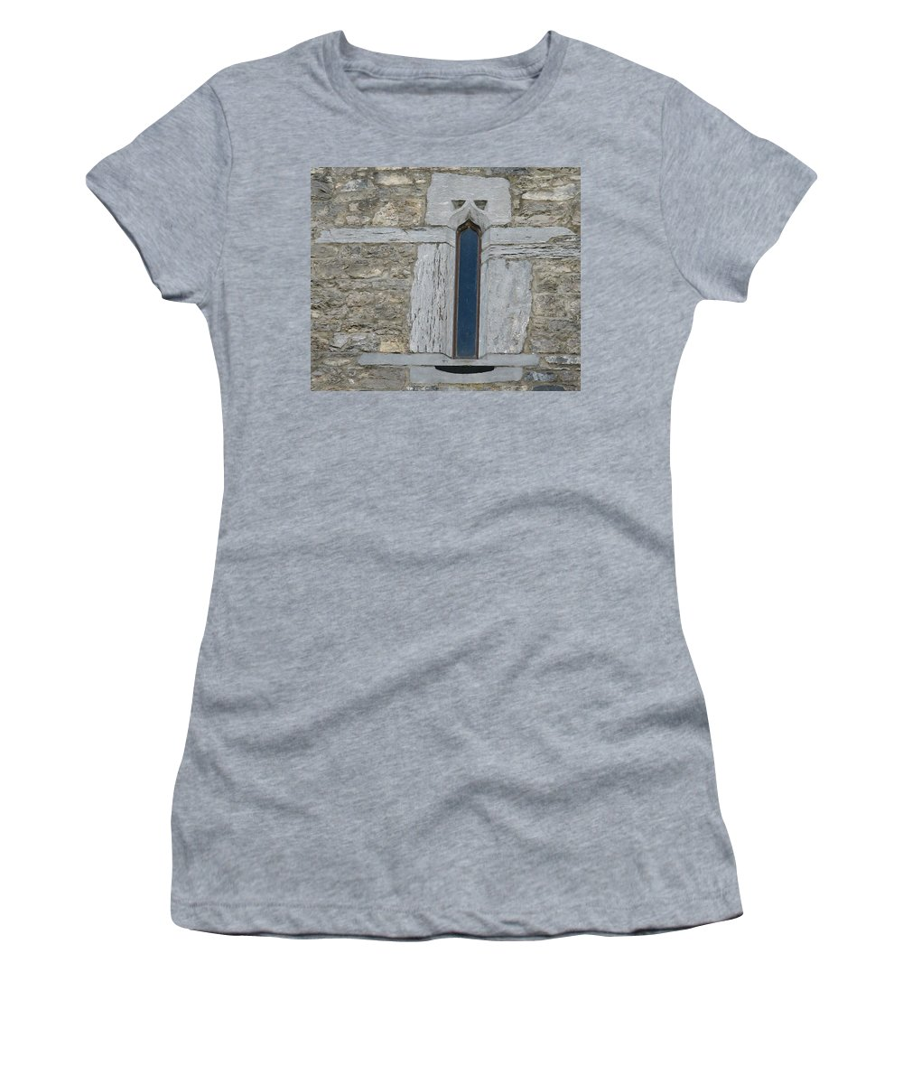 Ross Castle Women's T-Shirt (Athletic Fit) featuring the photograph Ross Castle by Kelly Mezzapelle