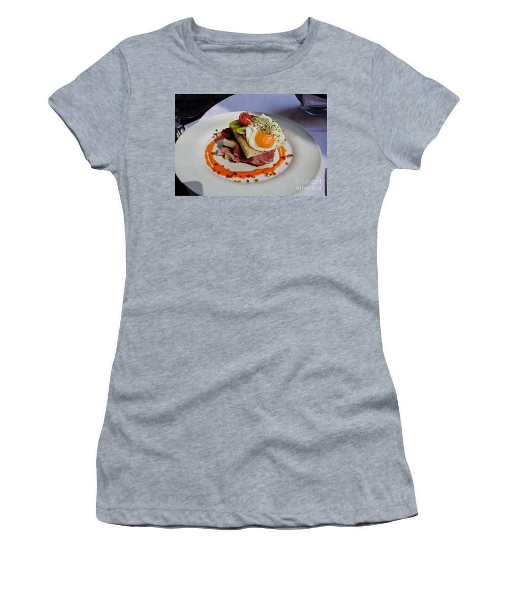 Sandwich Women's T-Shirt featuring the photograph Sandwich by Thomas Marchessault