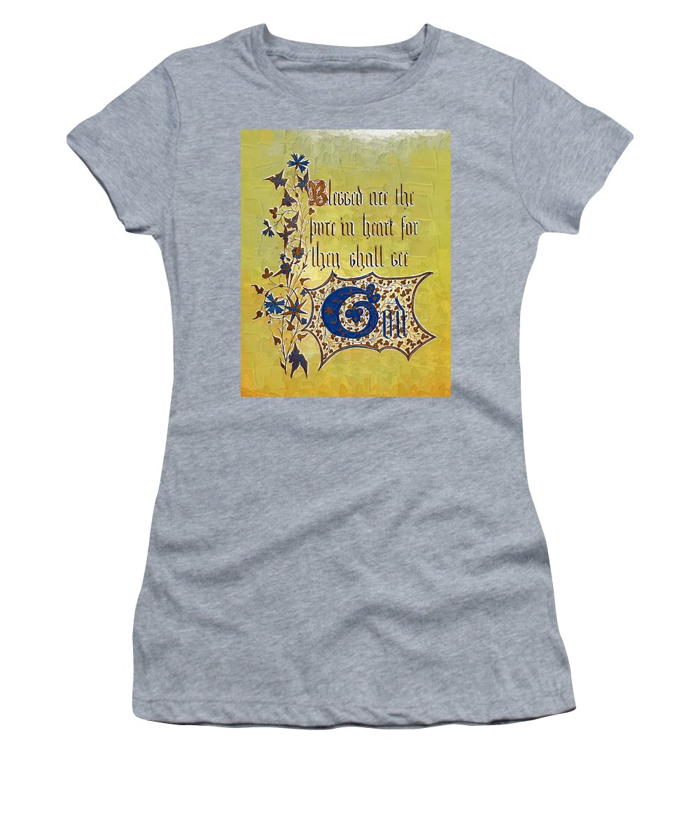 Sermon Women's T-Shirt (Athletic Fit) featuring the photograph Sermon7 by Donna Bentley