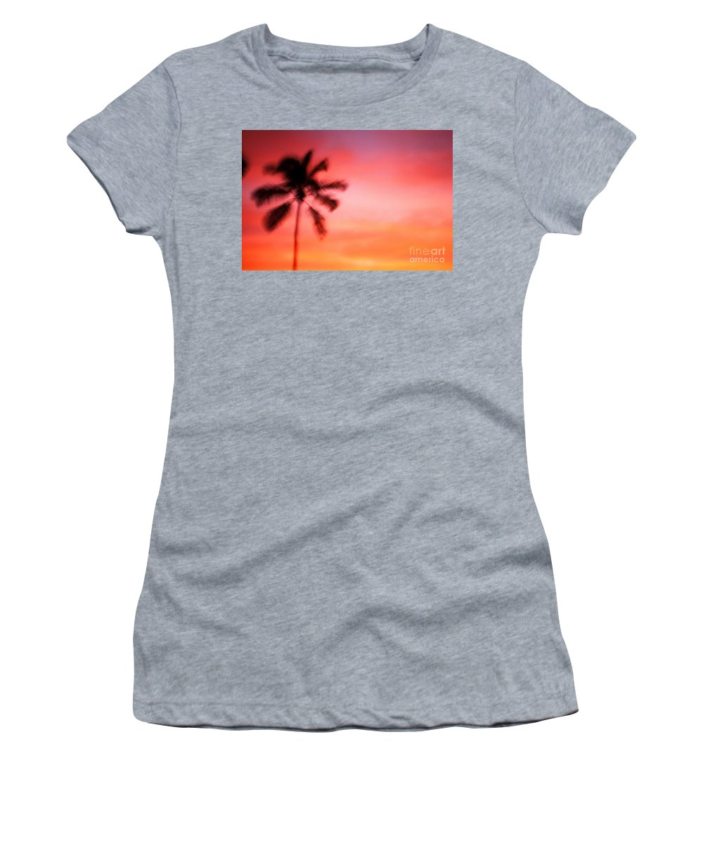 Air Art Women's T-Shirt featuring the photograph Shades Of Red by Dana Edmunds - Printscapes