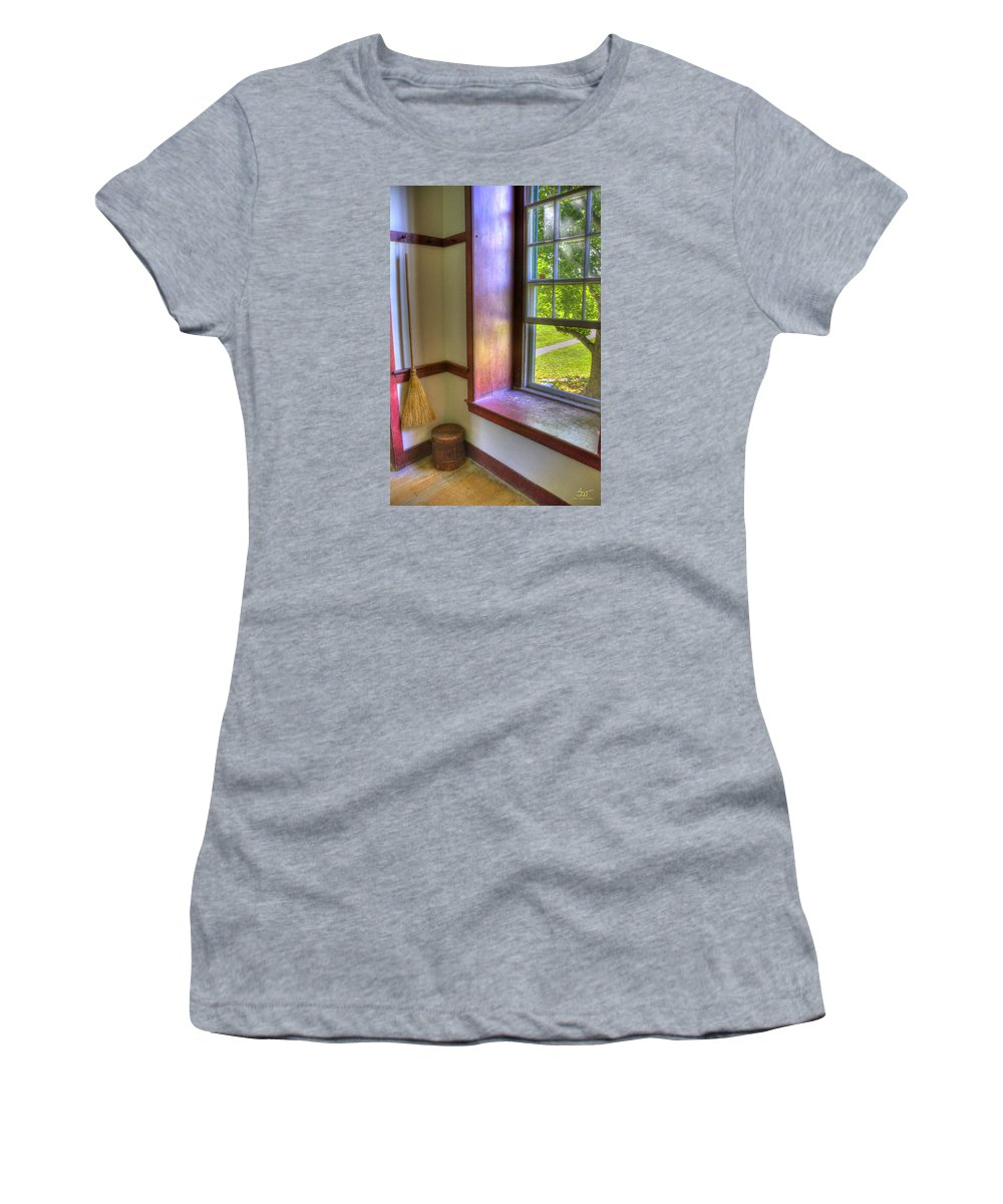 Shaker Women's T-Shirt (Athletic Fit) featuring the photograph Shaker Life 2 by Sam Davis Johnson