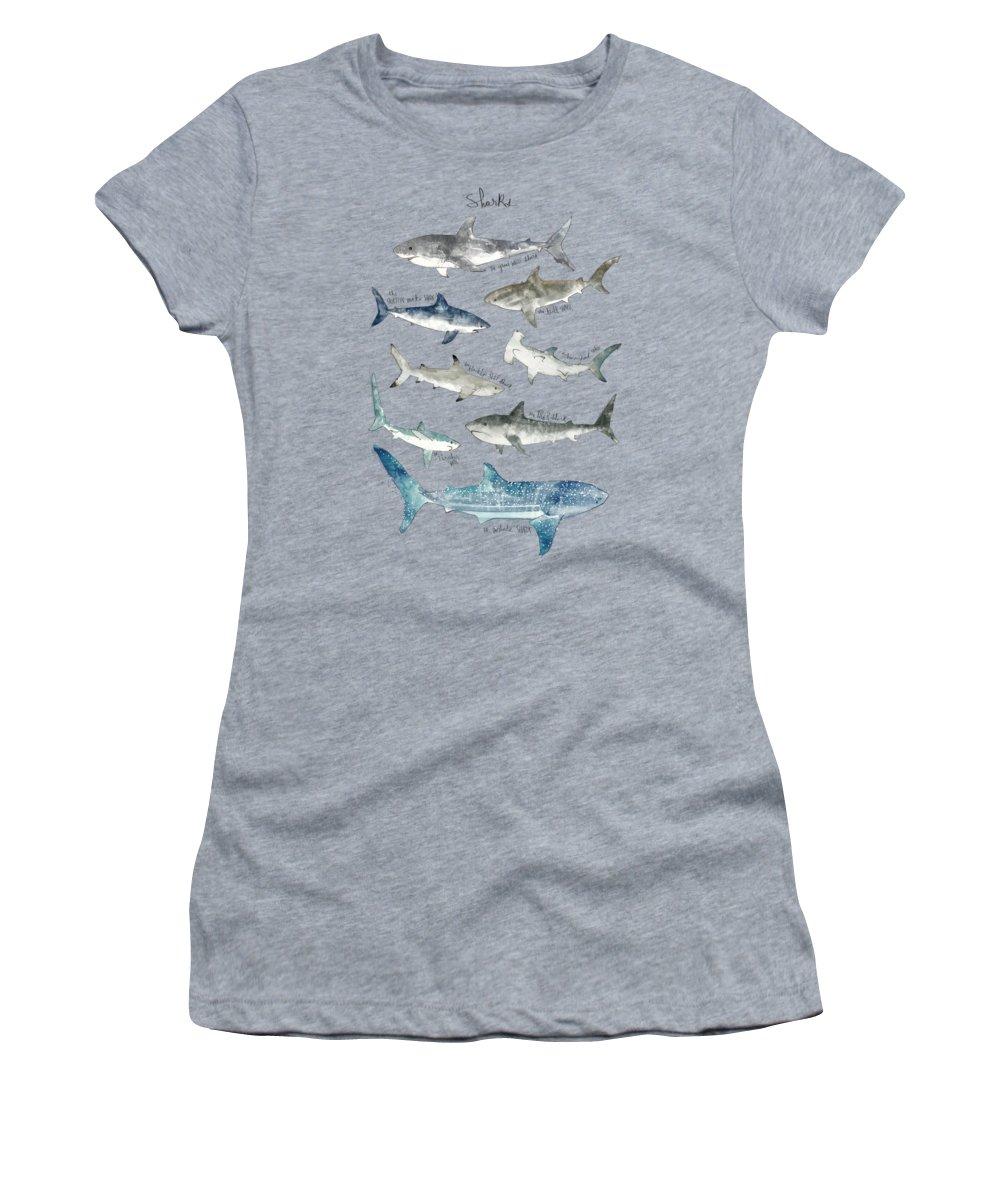 Fish Paintings Women's T-Shirts
